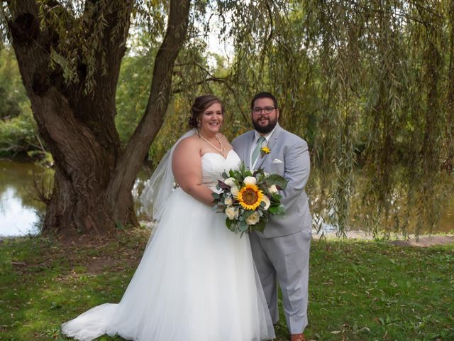 The wedding of Megan and Phillip