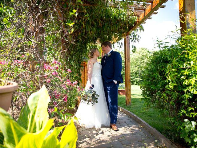 The wedding of Lindsay and Brandon