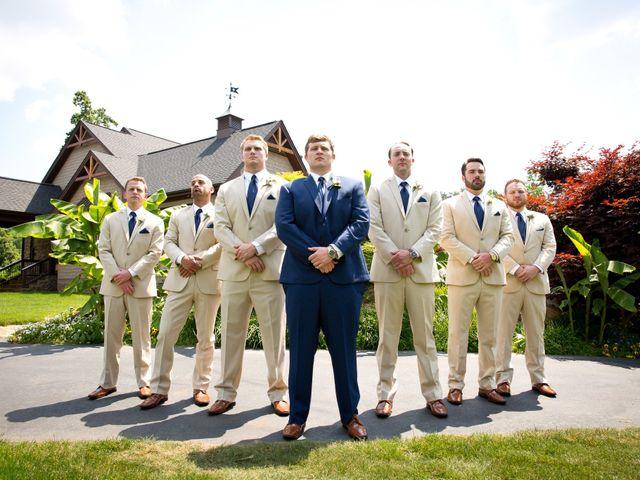 Brandon and Lindsay's Wedding in Greenville, South Carolina 11