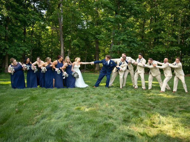 Brandon and Lindsay's Wedding in Greenville, South Carolina 12