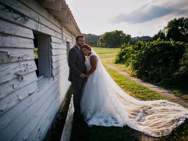 The wedding of Celeste and Timothy