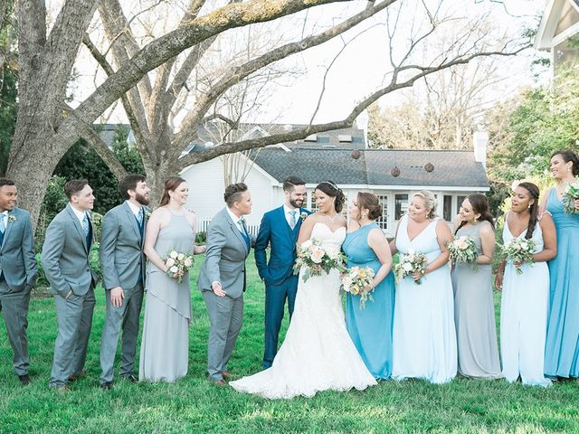 Dylan and Josie's Wedding in Chapel Hill, North Carolina 6