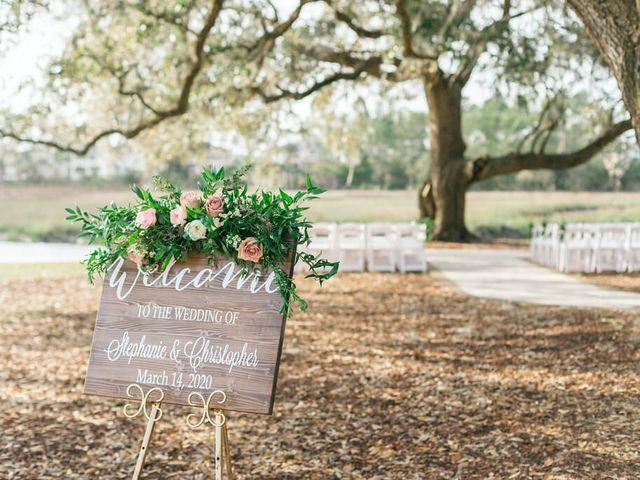Stephanie and Chris's Wedding in Charleston, South Carolina 7