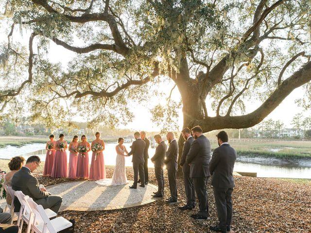 Stephanie and Chris's Wedding in Charleston, South Carolina 15