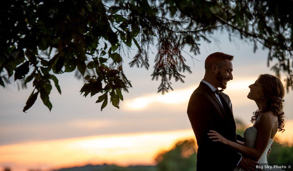 Megan and Jamie's Wedding in Poynette, Wisconsin