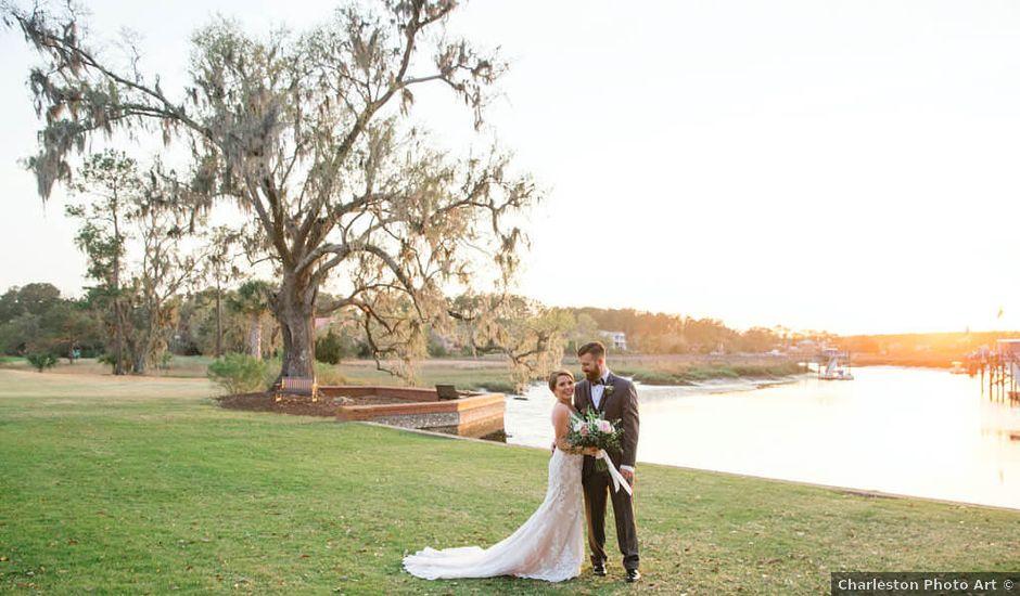 Stephanie and Chris's Wedding in Charleston, South Carolina
