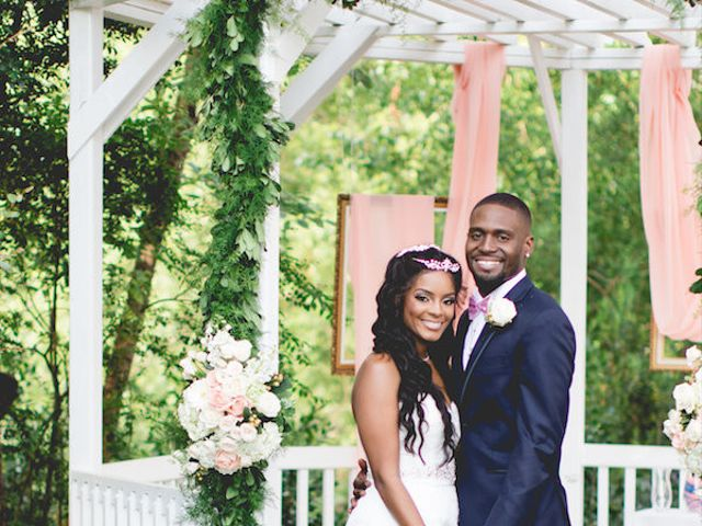 The wedding of Le'Juan and Quanteria