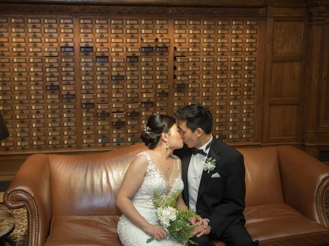 The wedding of Yu Zhang and Dan