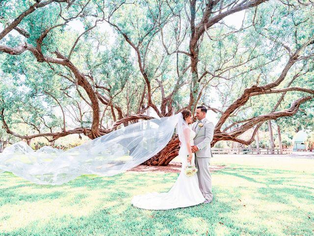 The wedding of Alejandro and Eliabeth