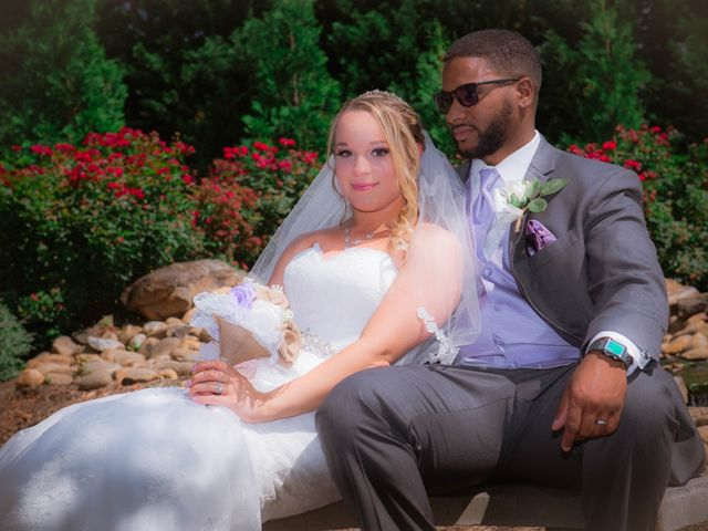 The wedding of Devaunte' and Logan