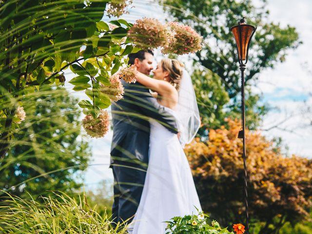 The wedding of Jennifer and Bryan