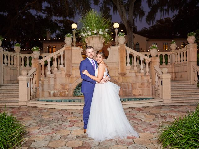 The wedding of Addie and Michael
