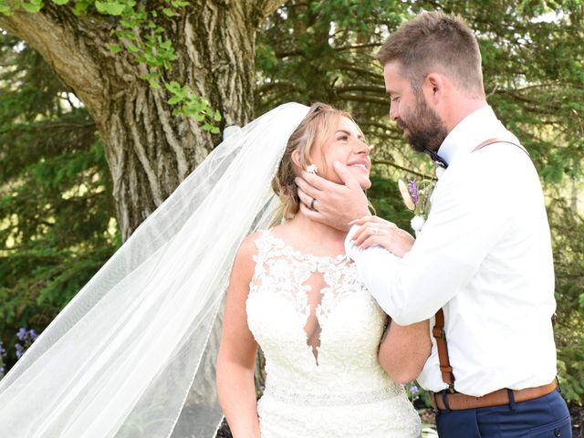 The wedding of Kadie and Travis