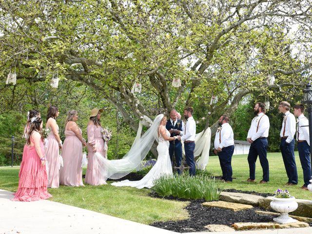 Travis and Kadie's Wedding in Lancaster, Ohio 22