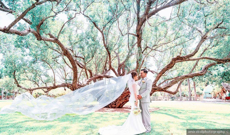 Eliabeth and Alejandro's Wedding in Miami, Florida