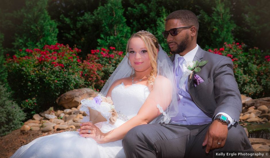 Logan and Devaunte''s Wedding in Inman, South Carolina