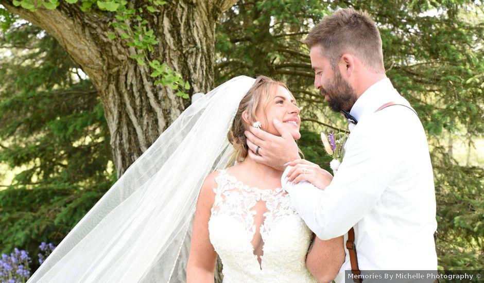Travis and Kadie's Wedding in Lancaster, Ohio
