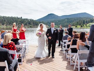 Maaco and Nick's Wedding in Evergreen, Colorado 14
