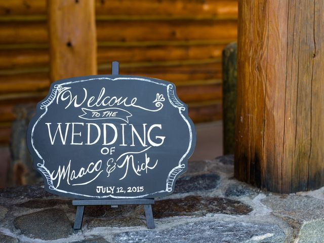 Maaco and Nick's Wedding in Evergreen, Colorado 1