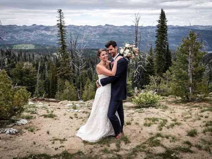 The wedding of Erika and Michael
