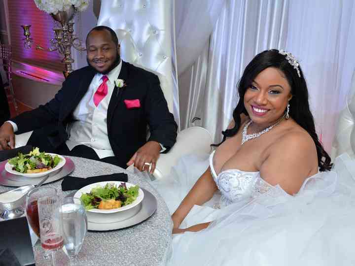 The wedding of Sheena and Tron