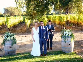 The wedding of Chrissy and Samuel 3
