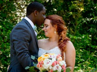 The wedding of Jordan and Ervin 1