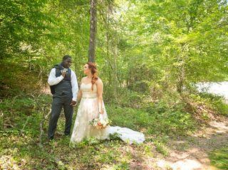 The wedding of Jordan and Ervin