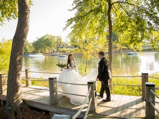 The wedding of Tiffany and Zach