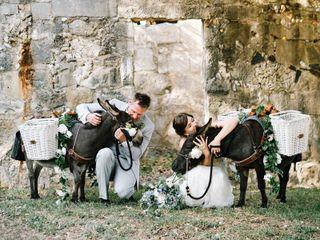 The wedding of Zoe and Adam