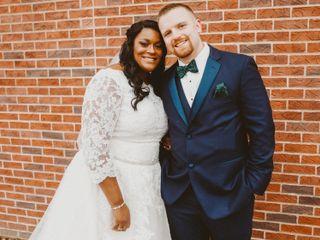 The wedding of Angel  and Cory