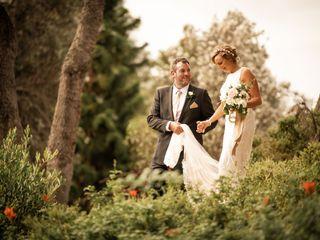 The wedding of Caroline and Wayne