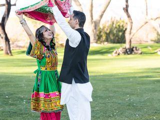The wedding of Zohra and Tariq 2