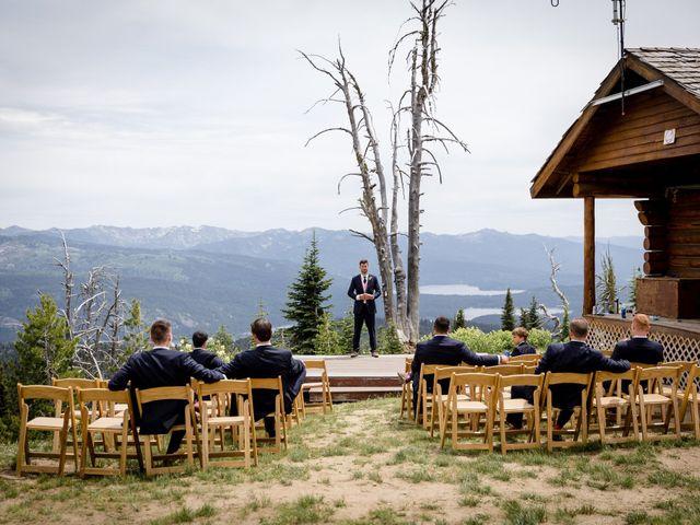Michael and Erika's Wedding in McCall, Idaho 23
