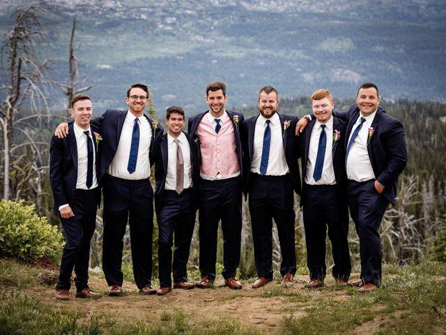 Michael and Erika's Wedding in McCall, Idaho 25