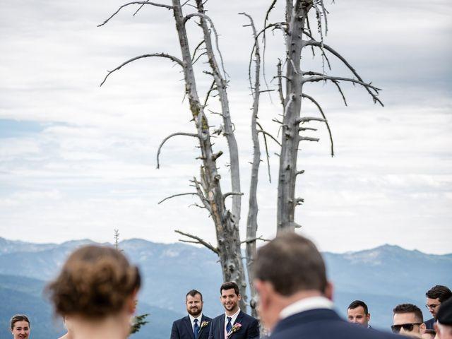 Michael and Erika's Wedding in McCall, Idaho 42