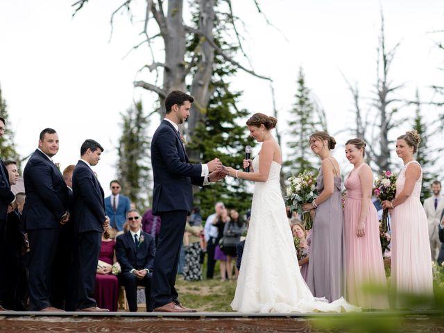 Michael and Erika's Wedding in McCall, Idaho 45