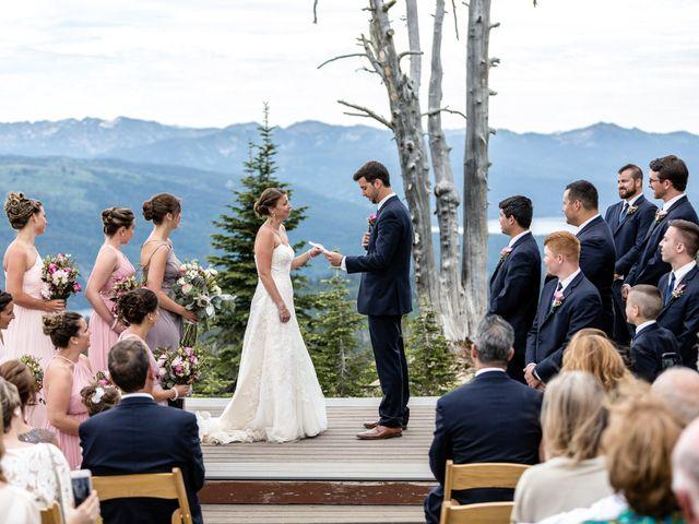 Michael and Erika's Wedding in McCall, Idaho 51