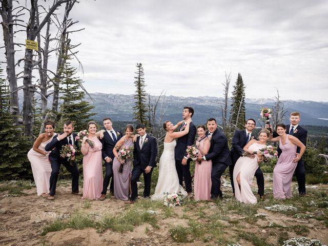 Michael and Erika's Wedding in McCall, Idaho 58