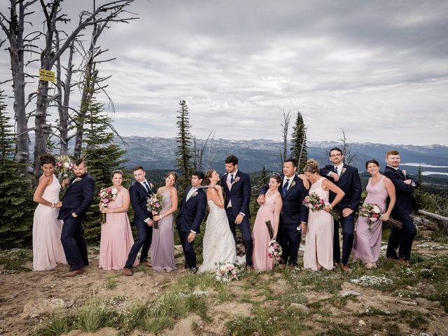 Michael and Erika's Wedding in McCall, Idaho 59