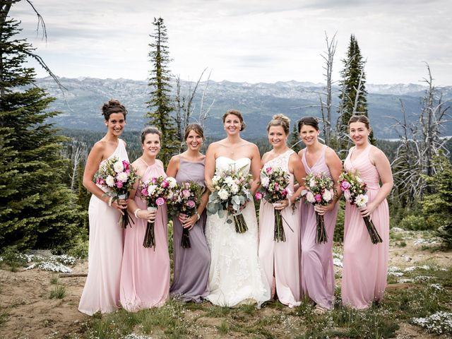 Michael and Erika's Wedding in McCall, Idaho 60