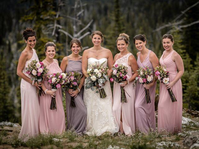 Michael and Erika's Wedding in McCall, Idaho 61