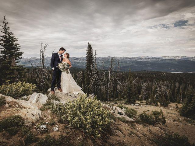 Michael and Erika's Wedding in McCall, Idaho 1
