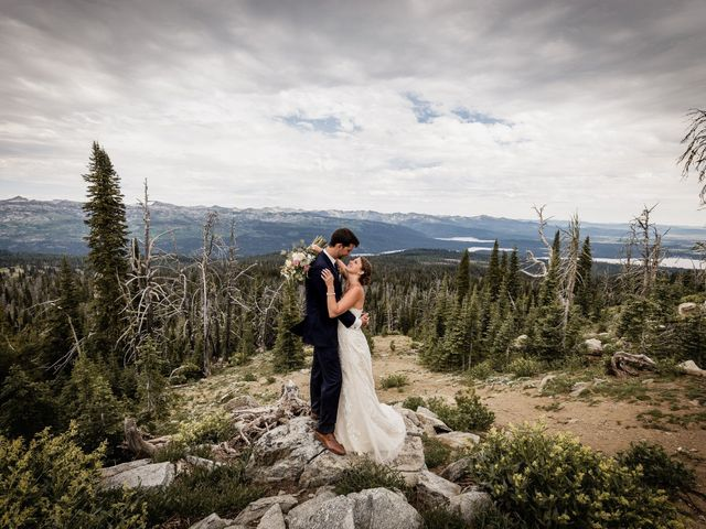 Michael and Erika's Wedding in McCall, Idaho 63