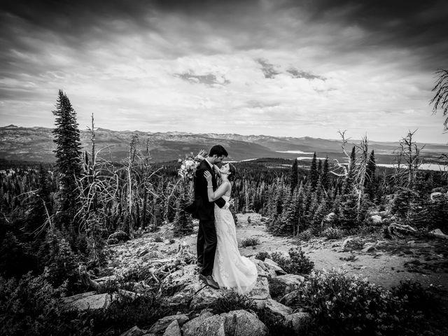 Michael and Erika's Wedding in McCall, Idaho 64