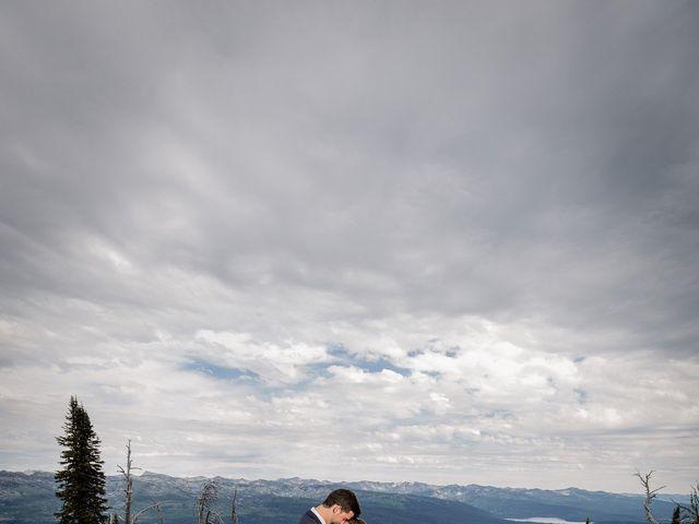 Michael and Erika's Wedding in McCall, Idaho 65