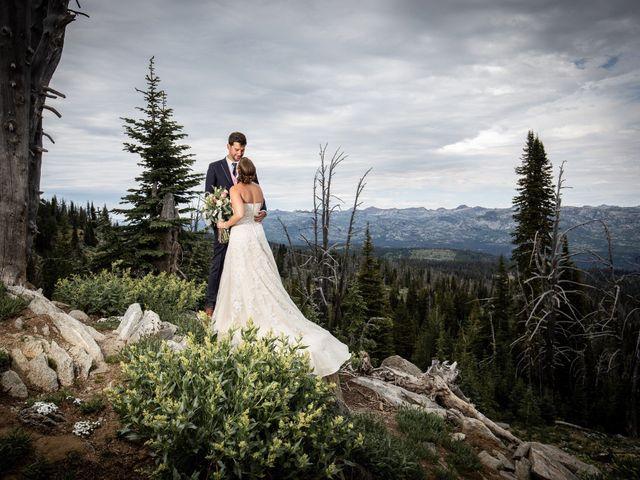 Michael and Erika's Wedding in McCall, Idaho 66