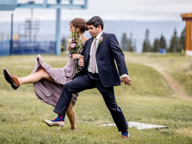 Michael and Erika's Wedding in McCall, Idaho 74