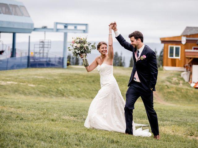 Michael and Erika's Wedding in McCall, Idaho 75