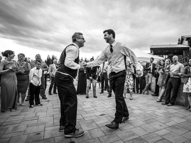 Michael and Erika's Wedding in McCall, Idaho 98